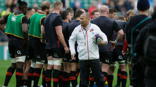 """""""We're just worried about ourselves. We've got a lot to do"""": Eddie Jones."""
