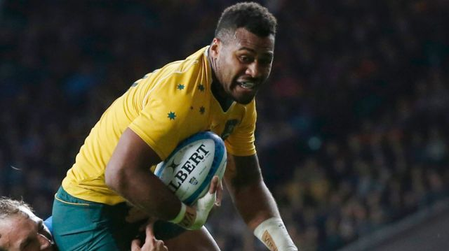 Samu Kerevi has been one of the Wallabies' better backs on their spring tour.