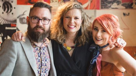 Anthony Cribbes, Sarah Dobson and Dee Brinsmead are the founders of The Altar Electric.