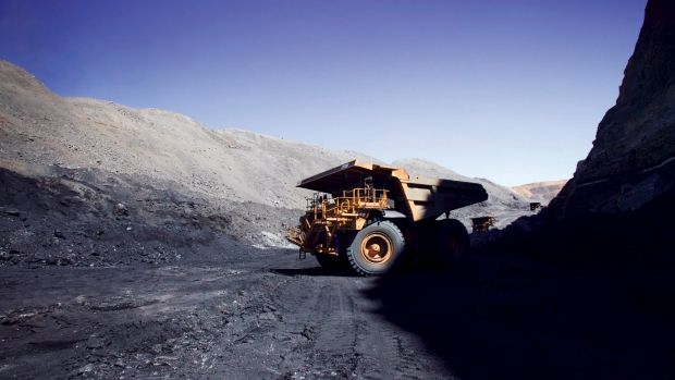 Coal exports were lower on price and volume.