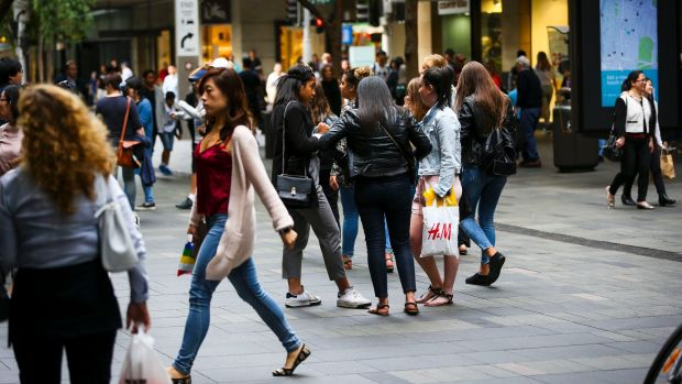 'Sydney is bursting at the seams': Sydney's Pitt Street remains in the world's top 10 most expensive retail streets.