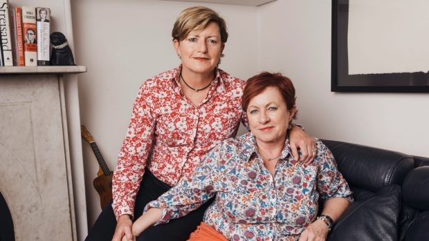 Christine Forster and Virginia Edwards at their home in Surry Hills.