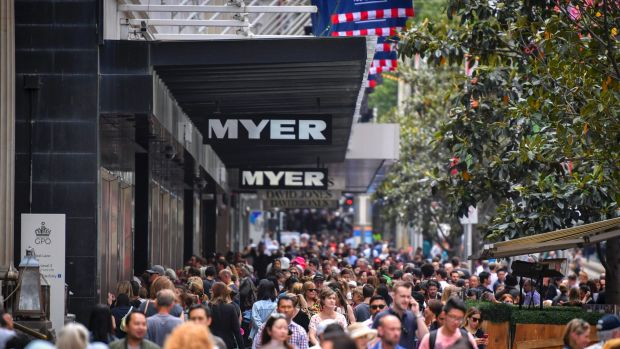 Melbourne's Bourke Street Mall was 17th in the world.