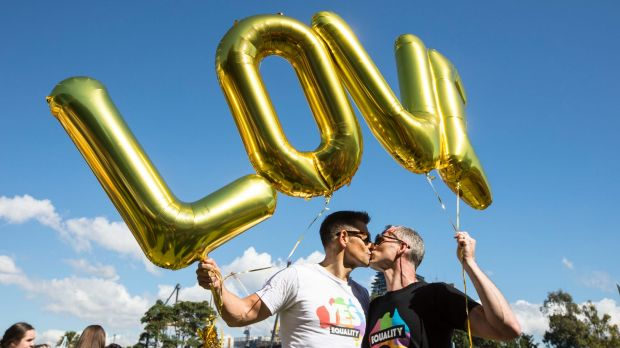 More than 60 per cent of Australians have voted in support of same-sex marriage