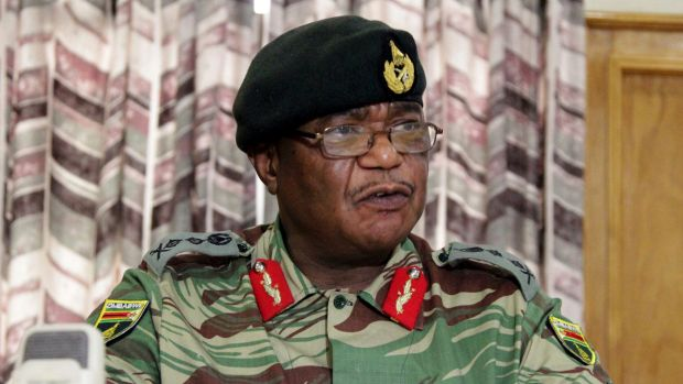 Zimbabwe's Army Commander Constantino Chiwenga criticised the country's instability on Monday.