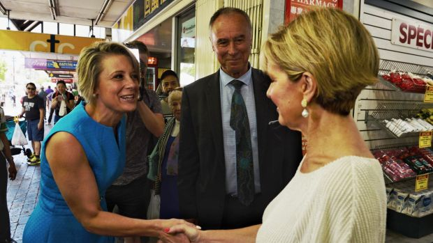 The records of Kristina Keneally's past state and the current federal government were both picked apart.
