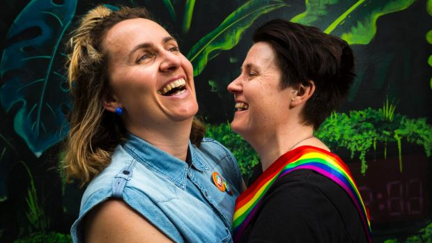 Zoe McDonald and Katie Larsen are already planning their October wedding next year.