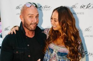 Designers Alex Perry and Camilla Franks were honoured with plaques at the Australian Fashion Walk of Style at Jackie's ...
