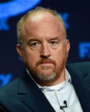 Louis CK often covered dark material in his TV show and stand-up.