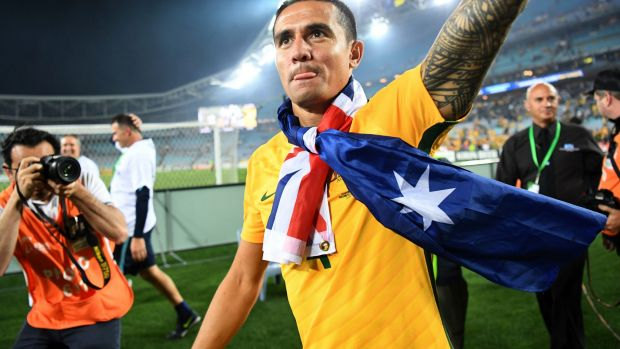Future uncertain: Tim Cahill may quit the A-League to boost World Cup hopes.