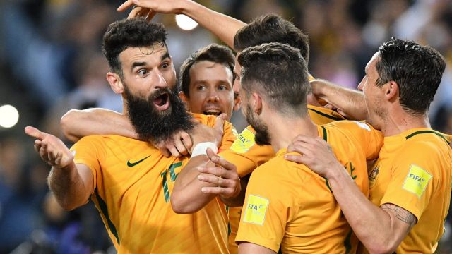 London calling: The Socceroos will take on Colombia in the UK.