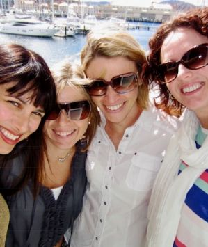 Lillian Nejad,Kristine Dalton, Claudia Gardiner and Julia Rivalland.