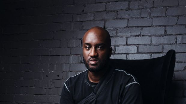 Virgil Abloh, American creative designer, DJ and founder of Milan-based fashion label Off-White, in Sydney last week.