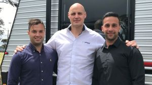 Justin Borg (left) and Matthew Kalanos (right) have launched Spota, with financial assistance from their former boss ...
