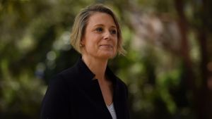 Kristina Keneally in Bennelong on Friday.