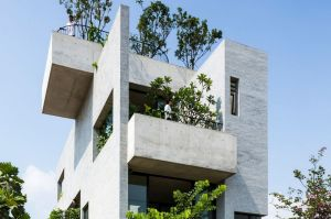 The winner of the World Architecture Festival was this multi level house in Ho Chi Minh City, Vietnam.