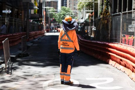 Sydney and Melbourne are experiencing infrastructure and construction booms.