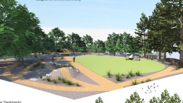 Giralang park concept design tests new community for Landscape design canberra