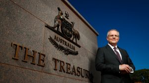 Federal Treasurer Scott Morrison is working on a financial redress scheme for bank victims.