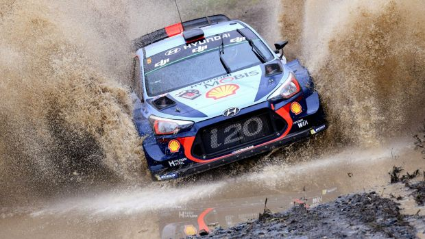 Belgian's Thierry Neuville won his fifth race of the season.
