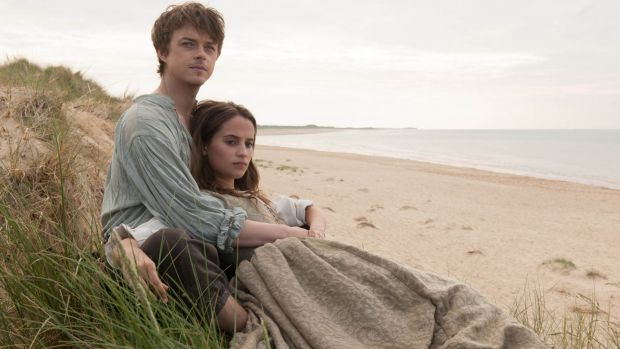 Tulip Fever with Dane DeHaan and Alicia Vikander.