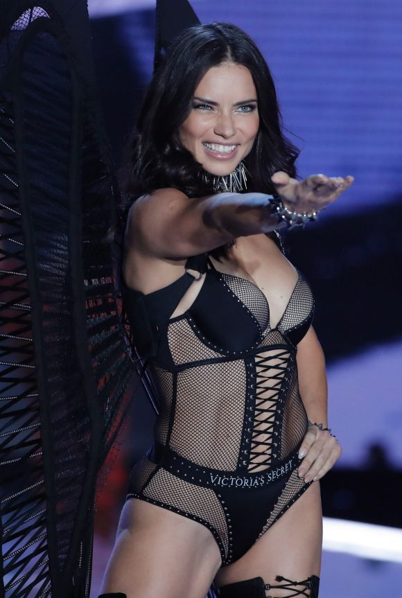 November: Adriana Lima in the always controversial Victoria's Secret parade, which was held in Shanghai. This year there ...