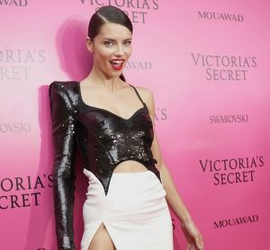Victoria's Secret's model Adriana Lima poses for a photo, at the after party of the Victoria's Secret fashion show ...