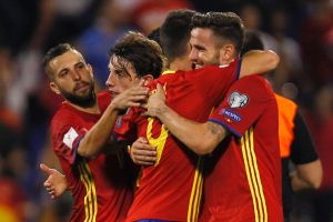 Late scratching: Spain's impressive qualifying campaign could be in vain.