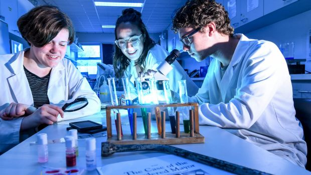 Fitzroy High School students Arabella Hope, Alice Huxtable and Roy Meuleman overhauled their elective program and ...