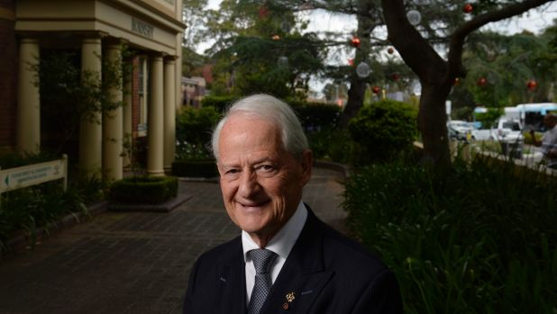 Philip Ruddock, pictured on Wednesday, says religious freedom must be understood and respected.