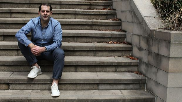 Joey Zwillinger, co founder and CEO of Allbirds in Sydney this week.