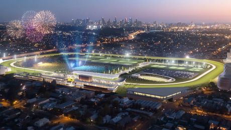 """The """"Vision for the Valley"""" plan will see a major redevelopment of the racetrack precinct."""