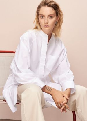 A look from sustainable fashion brand Kowtow's current season.