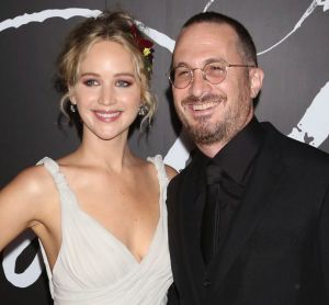 Jennifer Lawrence and Darren Aronofsky in happier times.