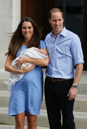 Not only did she give birth, get a blow dry and have a full face of make-up applied all within 12-hours, Kate also ...
