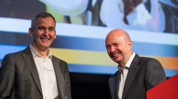 Woolworths CEO Brad Banducci and chairman Gordan Cairns made it clear they wouldn't be waiting around for Amazon to ...