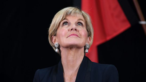 Measures taken by Minister Julie Bishop's Department of Foreign Affairs and Trade to protect domestic workers were ...