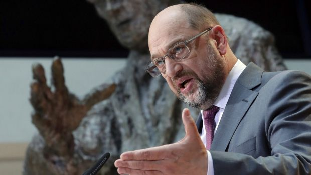 Martin Schulz, chairman of the German Social Democrats, has proposed a United States of Europe to address division ...