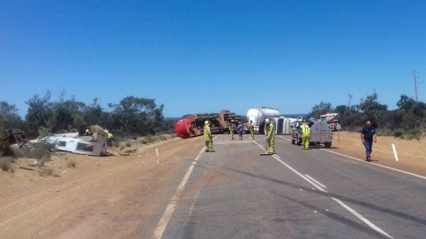 The incident closed Great Eastern Highway in both directions.