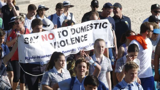 The annual Sydney White Ribbon Day Walk 2015. Menslink Canberra chief executive Martin Fisk says gender-based campaigns ...