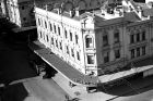 Capital Square in Sydney on 16 June 1947. The Capitol Theatre is pictured back from the Malvern Star bicycle outlet. SUN ...