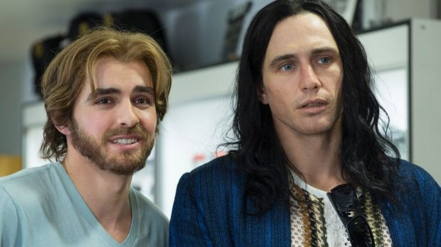 Brothers Dave (left) and James Franco star in The Disaster Artist.