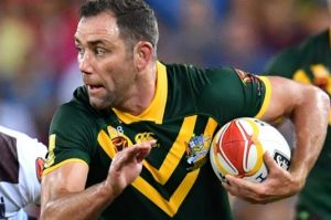 Passionate: Cameron Smith says he is enjoying just being on the park for Australia, rather than over-analyzing every ...