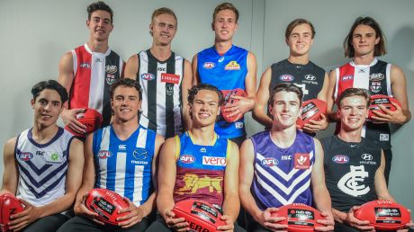The 2017 AFL Draft top 10 players