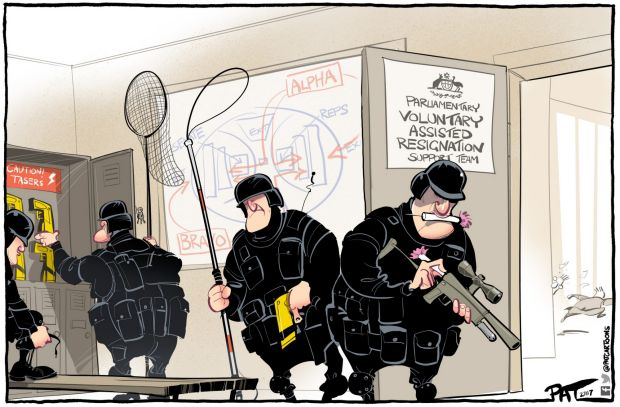 The Canberra Times editorial cartoon for Monday, November 27, 2017.