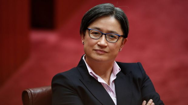 Labor senator Penny Wong during question time on Monday.