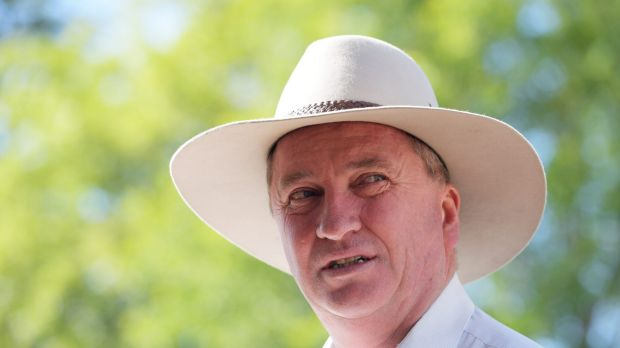 Barnaby Joyce does not understand marriage