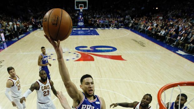 Ben Simmons was quiet by his standards, scoring just 10 points.
