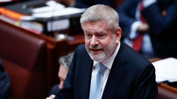 Communications Minister Mitch Fifield during question time on Tuesday.