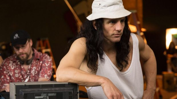 Seth Rogen, left, plays assistant director to James Franco's Tommy Wiseau.